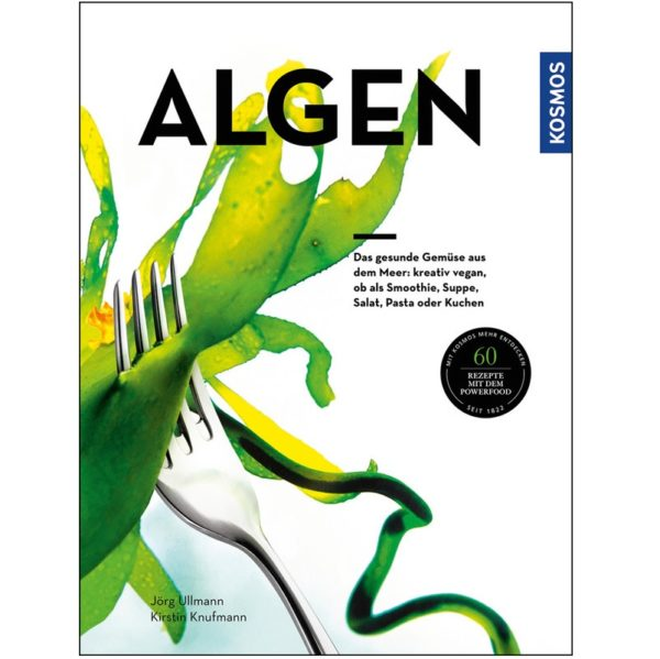 Algen, ein Buch von Jörg Ullmann und Kirstin Knufmann erhältlich bei ALGOMED® Online Shop