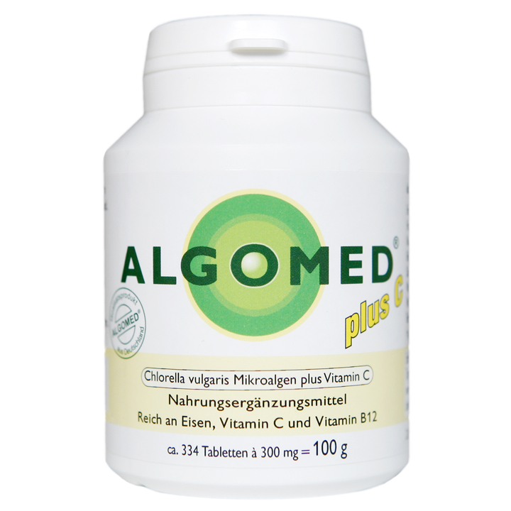 algomed plus c aus chlorella vulgaris pulver und vitamin c algomed. Black Bedroom Furniture Sets. Home Design Ideas