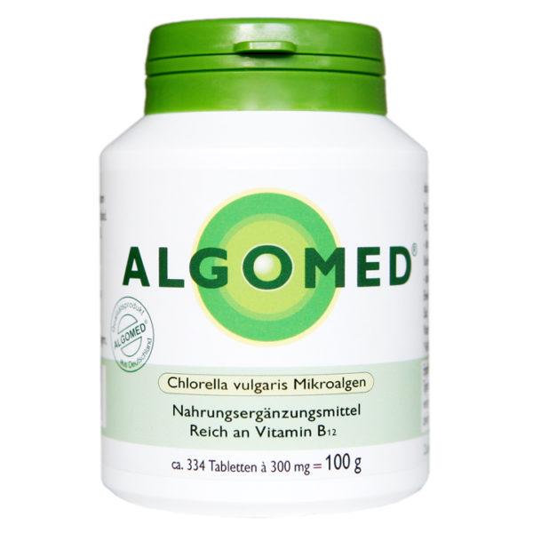 ALGOMED® Chlorella Tabletten 100g, aus Chlorella vulgaris Mikroalgen aus Deutschland