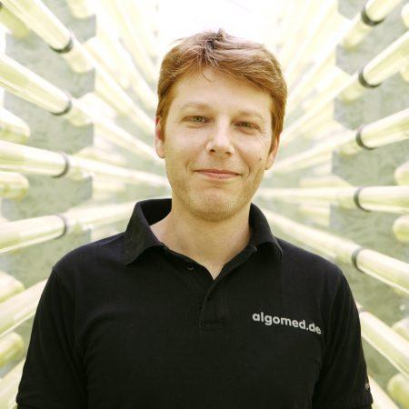 Produktionsleiter Jan Bogner, ALGOMED, Roquette Klötze Gmbh & Co. KG