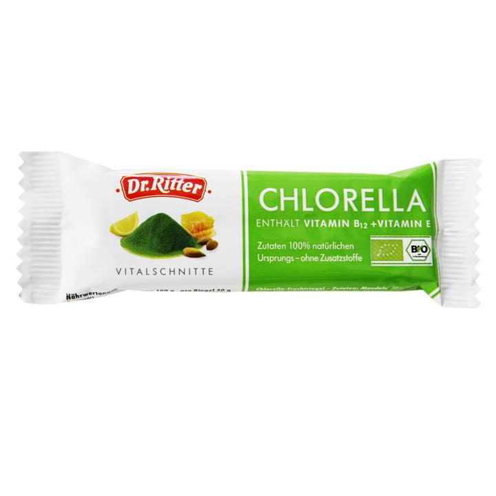 Chlorella Vitalschnitte von Dr. Ritter mit Chlorella-Algen aus Deutschland