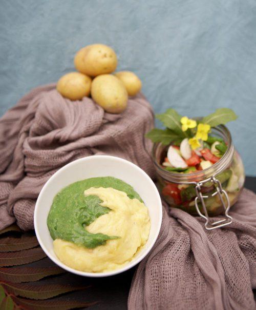 Chlorella Püree - Kartoffelpüree mit Chlorella vulgaris Rezept