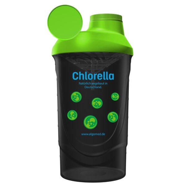 ALGOMED® Chlorella Shaker schwarz, 600 ml