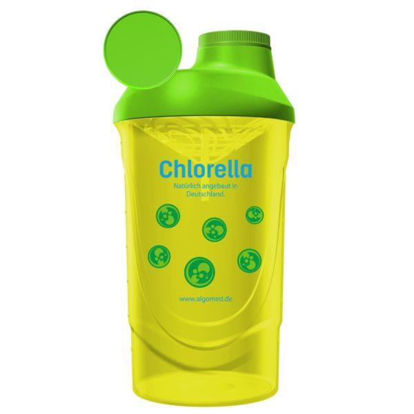 ALGOMED® Chlorella Shaker gelb, 600 ml